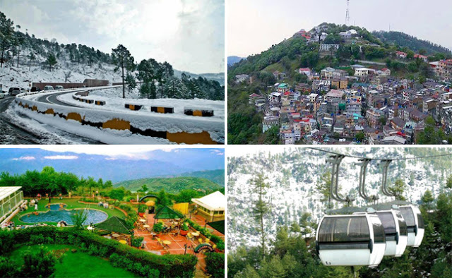 6 BEST PLACES TO VISIT IN MURREE