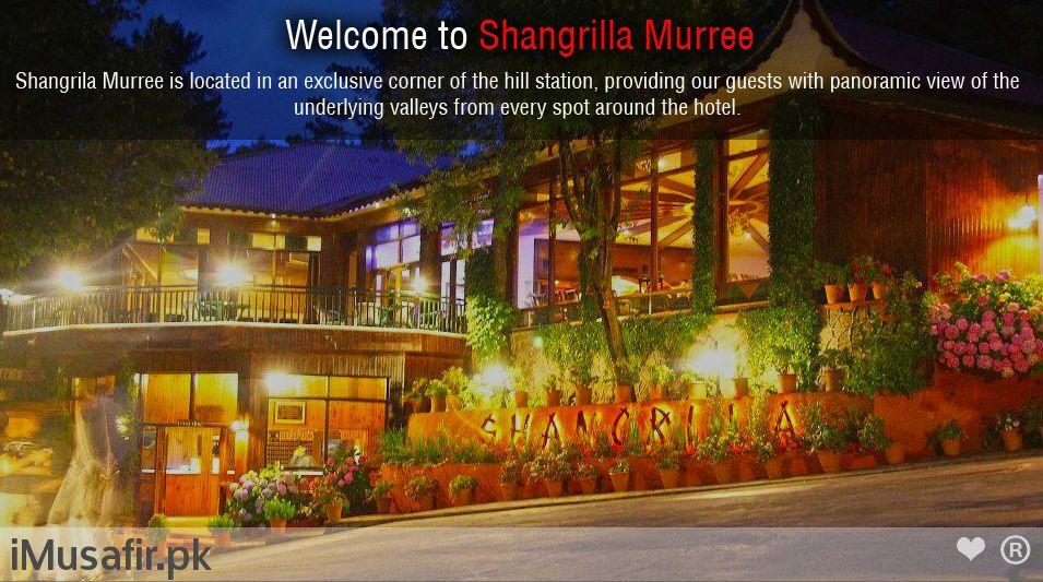 Book Shangrila Resort Hotel Murree On Cheap Rates Through